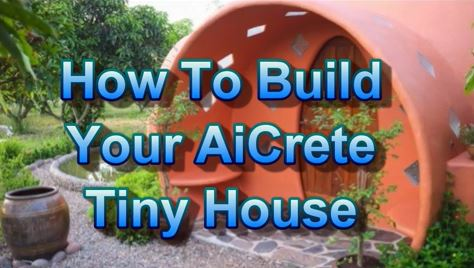 Tiny Dome House …  answer to homeless? off the Grid